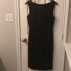 RED Valentino black sheath dress w/ bow. NWT sz 44
